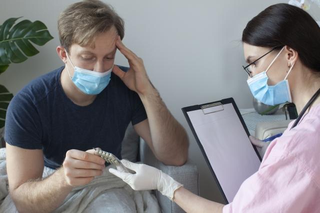 らいおんハート整骨院武蔵野 マスク頭痛2 マスクをしていると頭痛がする 整体院 鍼灸院